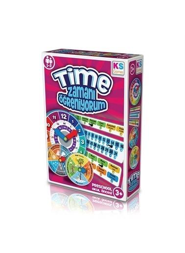 KS Puzzle KS Puzzle ZO 234 Okul Öncesi Zamanı Öğreniyorum Oyunu Renkli